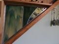 Custom Stair Shelf with Insert